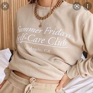 Summer Fridays sweatshirt!